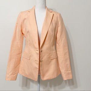 Banana Republic long and lean-fit linen blazer
